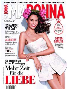 Cover Magazin Madonna April