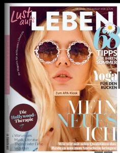 Titelbild Magazin Lust aufs Leben